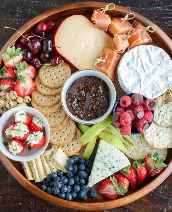 charcuterie picnic board