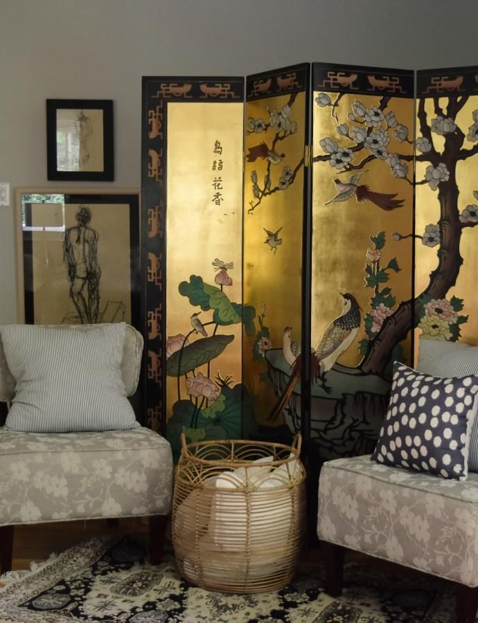 An Update on Our Master Bedroom Elliptical Hiding Vignette