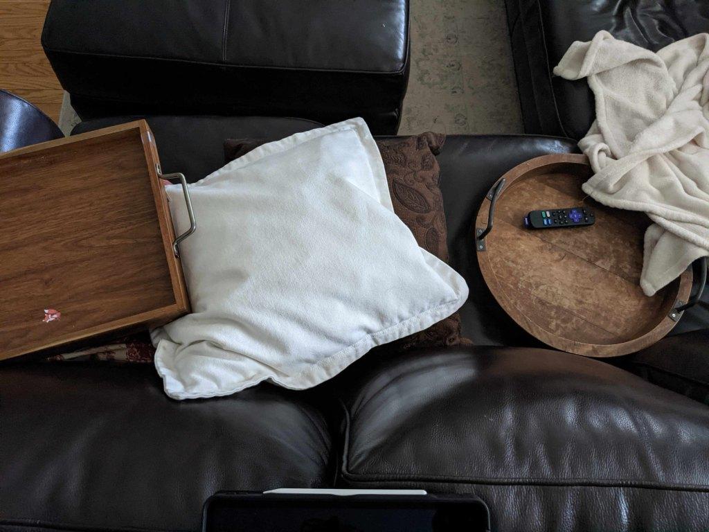instagram vs real life living room sofa