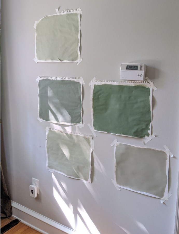 Week 3 Spring 2021 One Room Challenge Updates: A Paint Mistake, Rugs Arrive, Hardware Decisions…