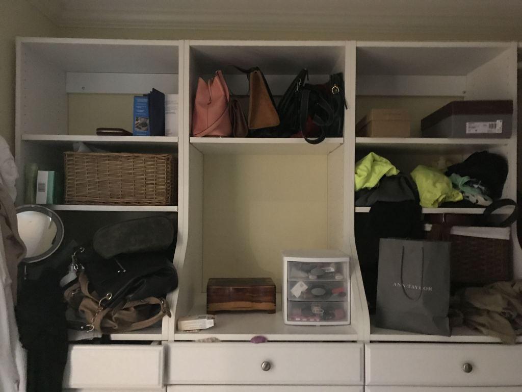 closet left side before