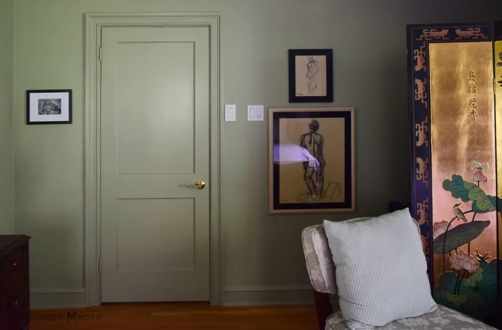 2021 orc reveal French gray bedroom door