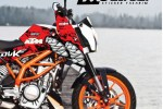 KTM DUKE SHARK STICKER MODELİ