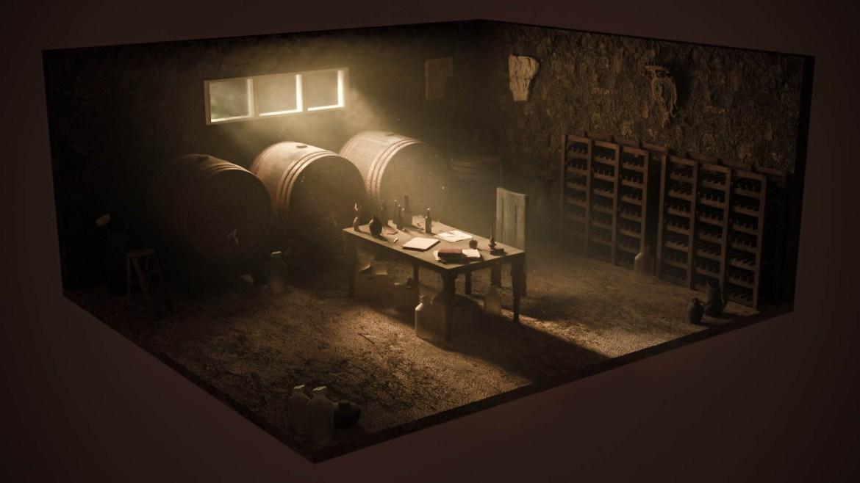 Wine cellar cover