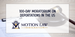 ICE has already started the 100-day moratorium on deportations