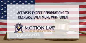 Lowest number of deportations during Donald Trump's term