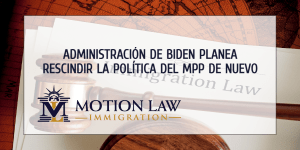 """DHS de Biden planea terminar el programa """"Permanecer en México"""" de nuevo"""