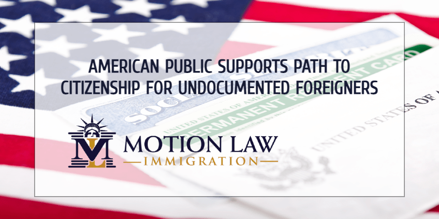 Local population increasingly supports the idea of offering benefits to undocumented immigrants