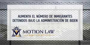 Está creciendo el número de inmigrantes detenidos en centros de ICE