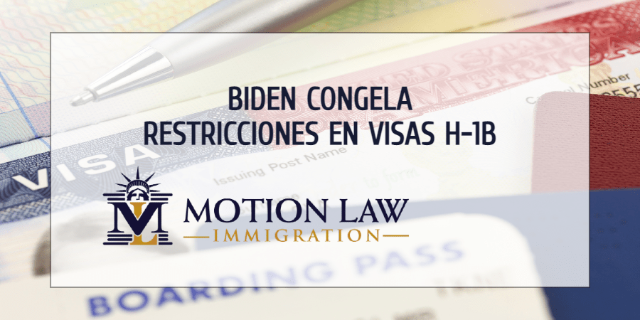 Gobierno de Biden congela las restricciones sobre la inmigración empresarial