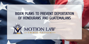 Biden's team evaluates the possibility of exempting Hondurans and Guatemalans from deportation