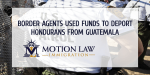 US border entities deported Hondurans from Guatemala