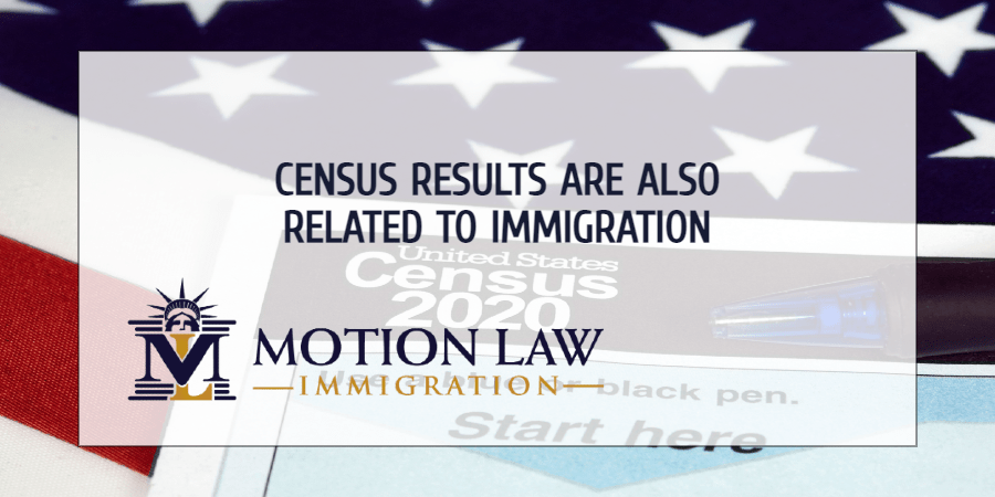 Immigration also influenced the Census results