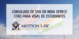 Consulado de los Estados Unidos en Chennai ofrece visas de estudiantes