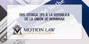 Biden otorga TPS a Migrantes de República de la Unión de Myanmar