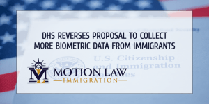 DHS refuses to collect more biometric data from immigrants