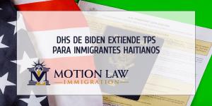 Secretario del DHS extiende TPS para Haitianos por 18 meses