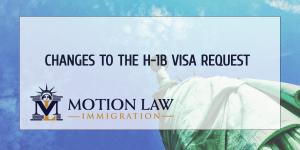 Request an H-1B visa