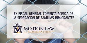 Jeff Sessions se arrepiente de la separación de familias inmigrantes bajo su supervisión