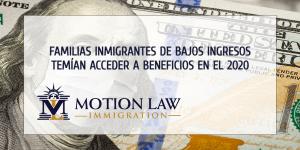 Inmigrantes de bajos ingresos evitaron recibir beneficios públicos durante la pandemia