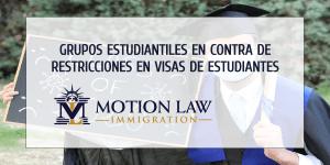 Universidad RICE en contra de restricciones de visas estudiantiles