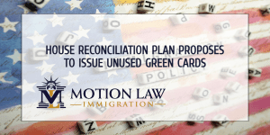 House reconciliation plan seeks to reuse Green Cards