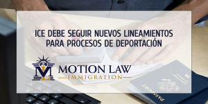Nuevos lineamientos de deportación para agentes de ICE