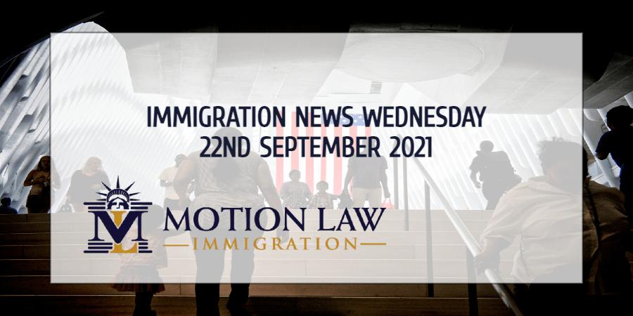 Immigration News Recap 22nd September 2021