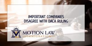 Major tech companies criticize judge's decision on DACA