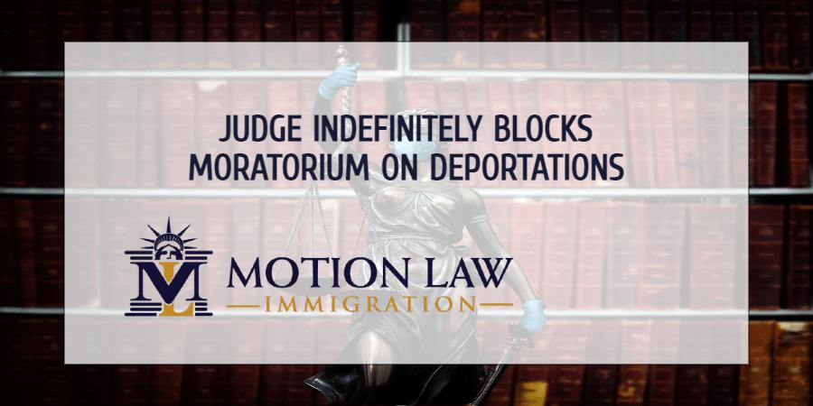 Judge indefinitely extends restriction on Biden's moratorium on deportations