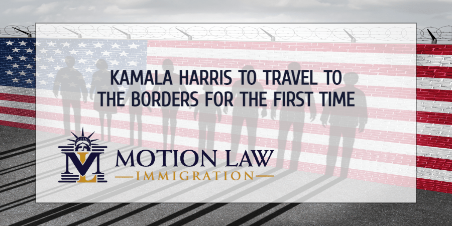 Vice President Harris will visit the borders for the first time