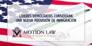 Líderes Demócratas planean introducir una nueva propuesta de inmigración
