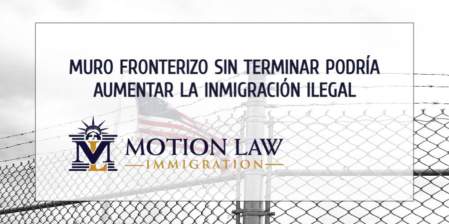 Muro fronterizo sin construir disminuye la seguridad en las fronteras