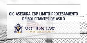 OIG investiga el procesamiento de solicitantes de asilo en las fronteras