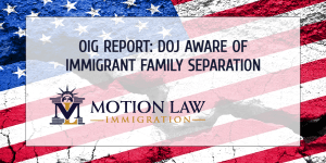 OIG reveals that the Trump administration knowingly separated immigrant families
