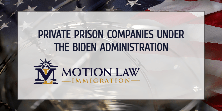 Biden plans to end contracts with private prison companies