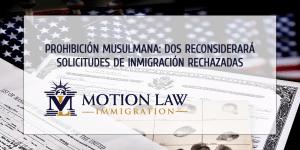 Administración de Biden reconsiderará solicitudes de inmigración rechazadas