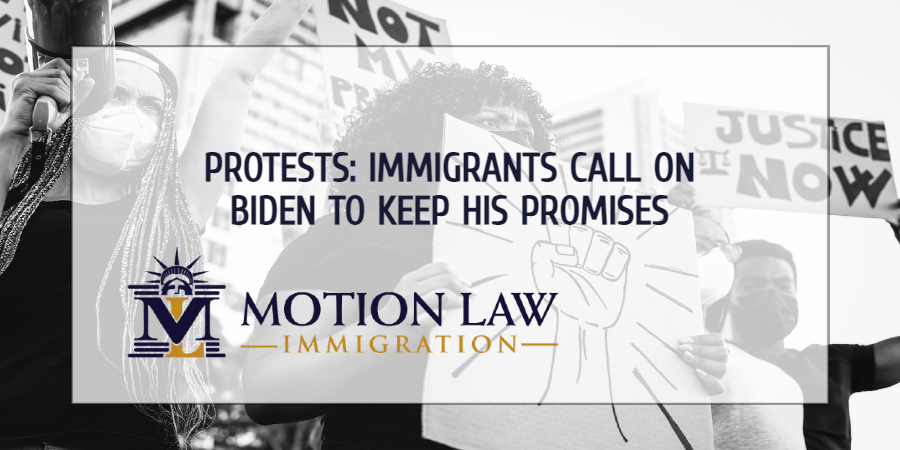 Immigrants urge Democrats to keep their promises