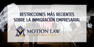 Las restricciones más recientes sobre la Visa H-1B
