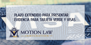 USCIS extended deadline for evidence and documentation due to COVID-19