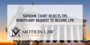 Supreme Court states that TPS beneficiaries are not eligible to apply for Green Cards