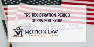 USCIS Opens Registration Period for TPS for Syria