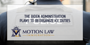 The Biden administration plans to reorient ICE