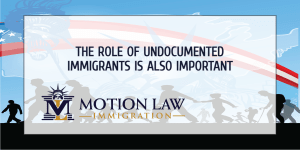 The contribution of undocumented immigrants must also be seen
