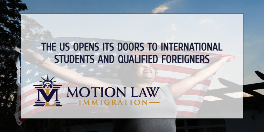 Biden's DOS to admit international students and qualified foreigners again