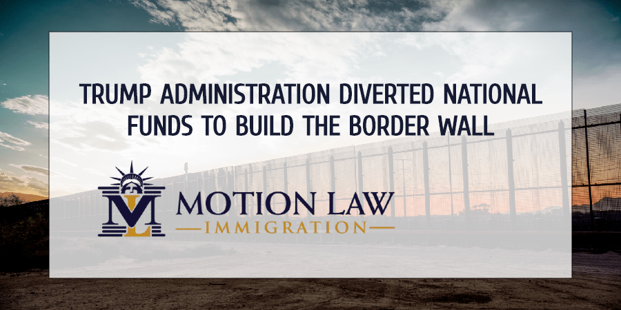 9th court of appeals orders Trump to halt the constructions of the border wall
