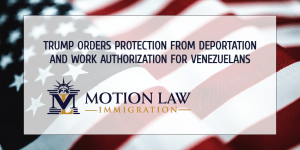 President Trump grants legal status to Venezuelans before leaving office