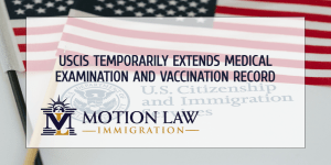 Biden's USCIS extends validity of medical exam and vaccination record