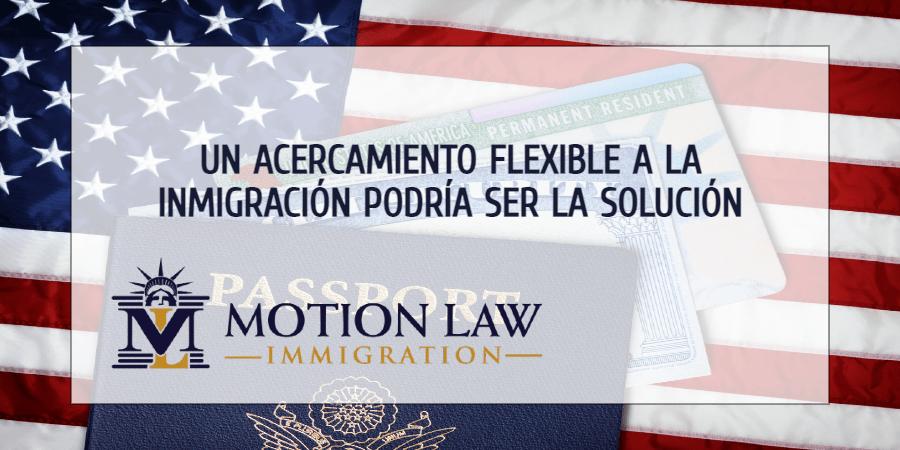 Una postura neutra hacia la inmigración podría traer grandes beneficios