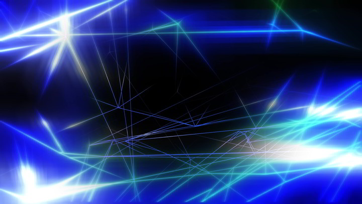Geometric Lines Anime Background